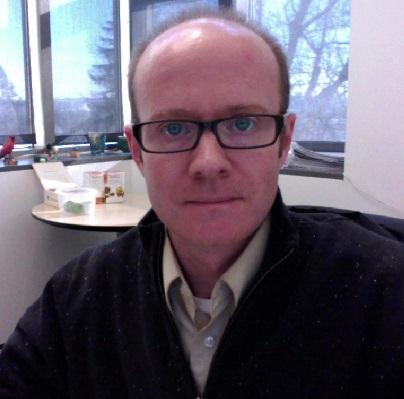 Novelist Kevin Crisp